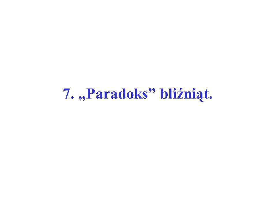 "7. ""Paradoks bliźniąt."