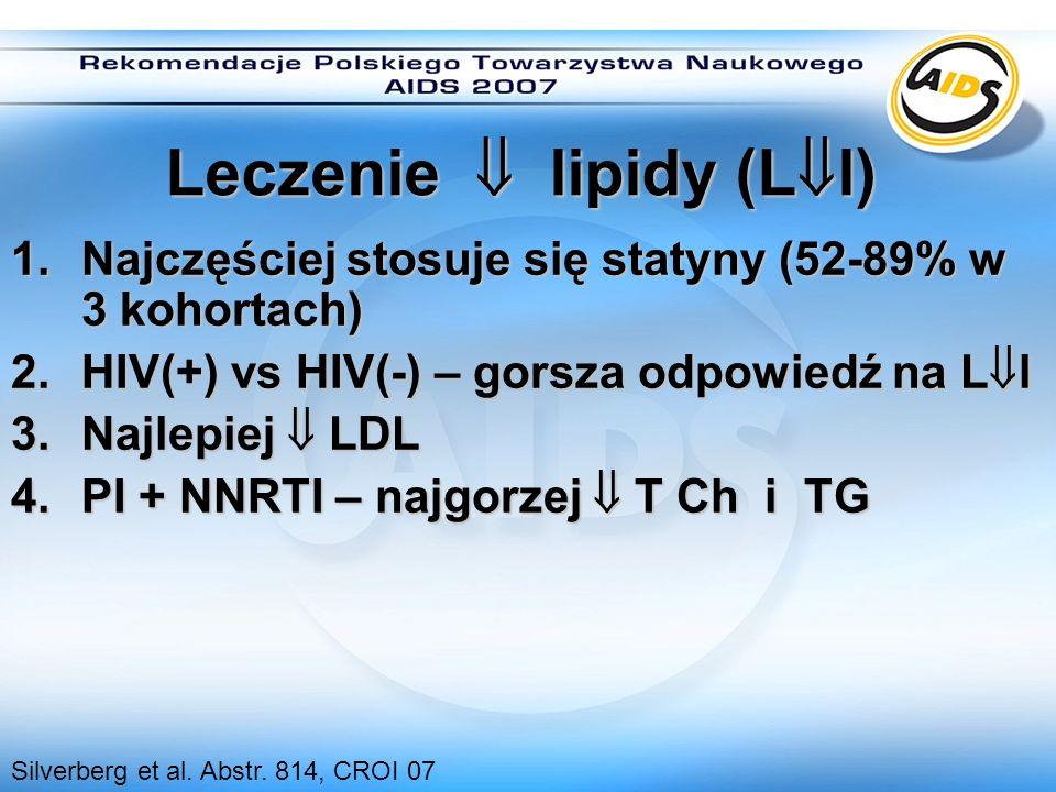 Leczenie  lipidy (Ll)