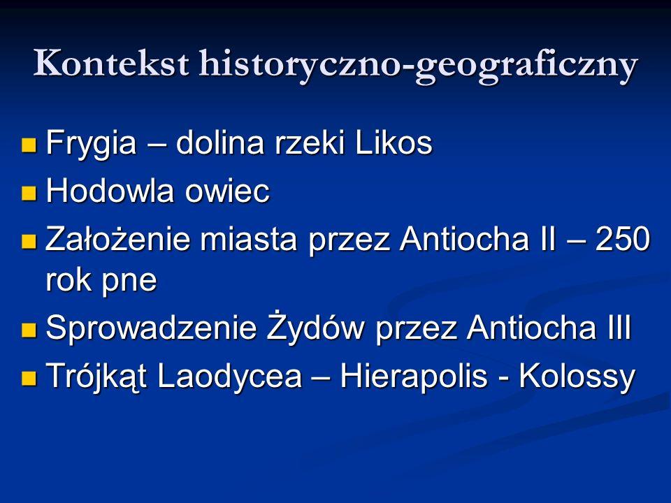 Kontekst historyczno-geograficzny
