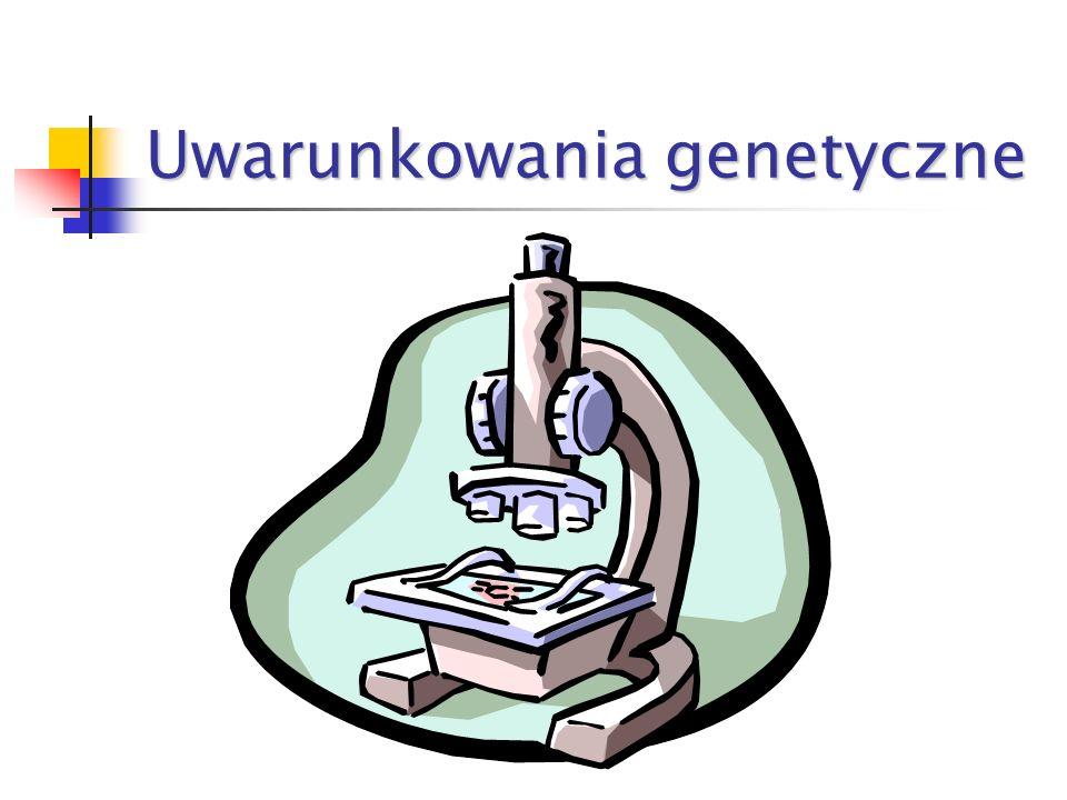 Uwarunkowania genetyczne