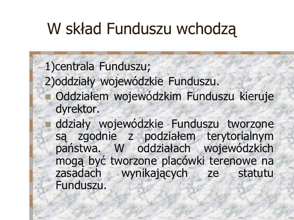 W skład Funduszu wchodzą