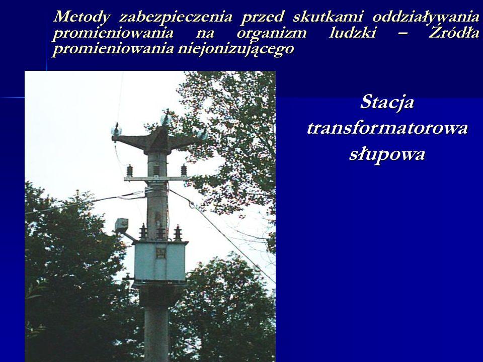 Stacja transformatorowa słupowa