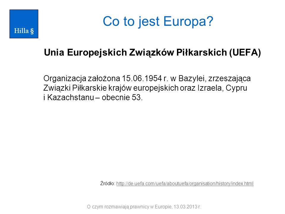 Unia Europejskich Związków Piłkarskich (UEFA)