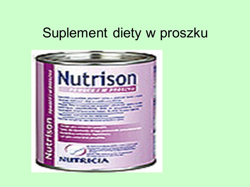 Suplement diety w proszku