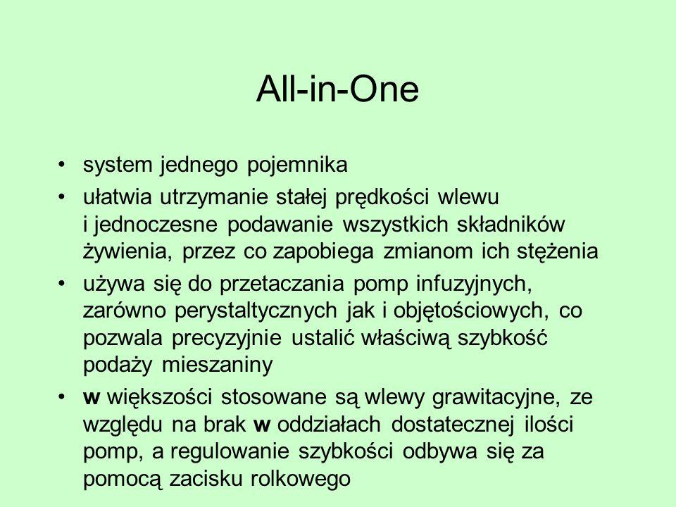 All-in-One system jednego pojemnika