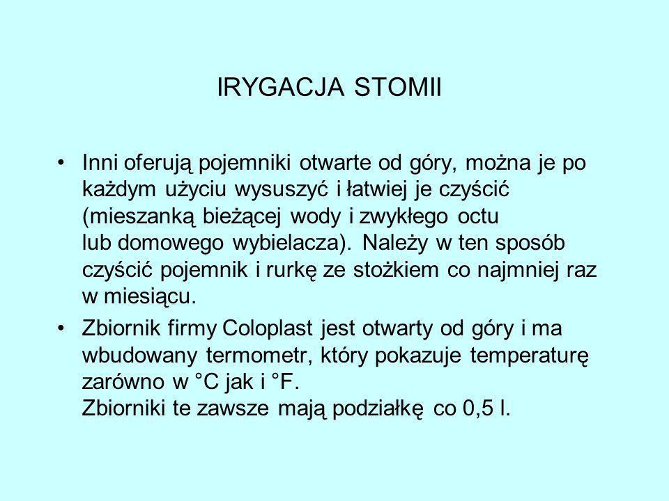 IRYGACJA STOMII