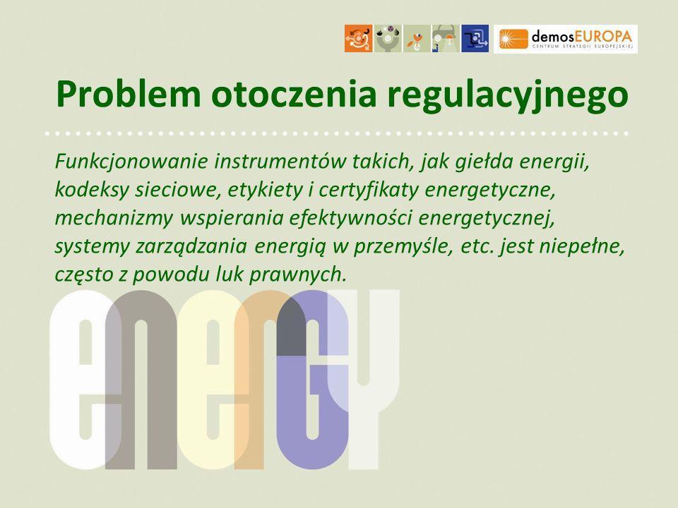 Problem otoczenia regulacyjnego