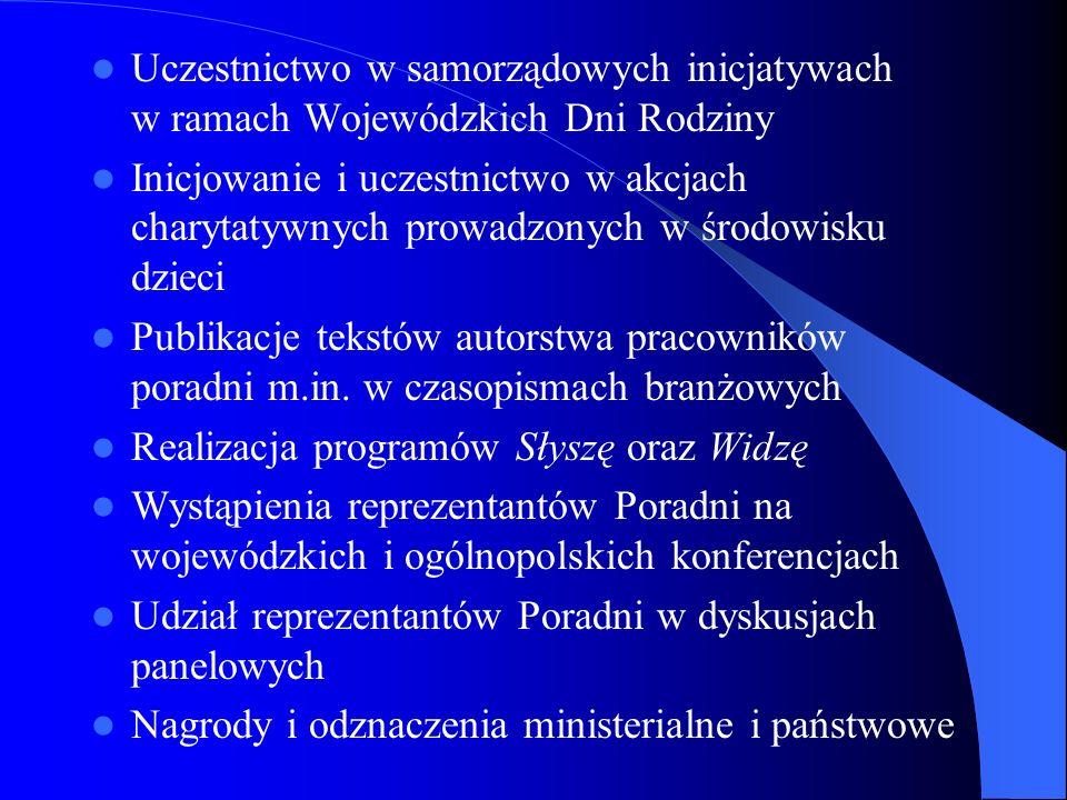 Uczestnictwo w samorządowych inicjatywach w ramach Wojewódzkich Dni Rodziny
