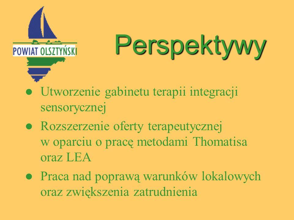 Perspektywy Utworzenie gabinetu terapii integracji sensorycznej