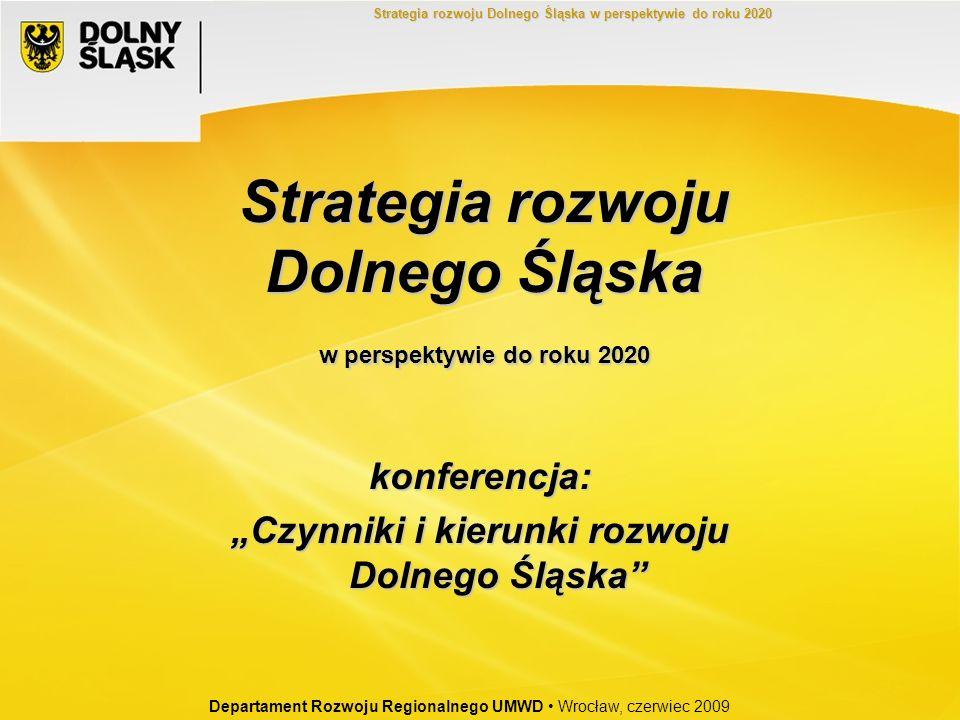 Strategia rozwoju Dolnego Śląska