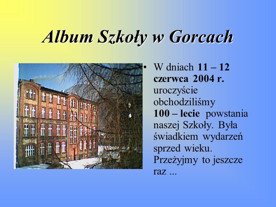 Album Szkoły w Gorcach