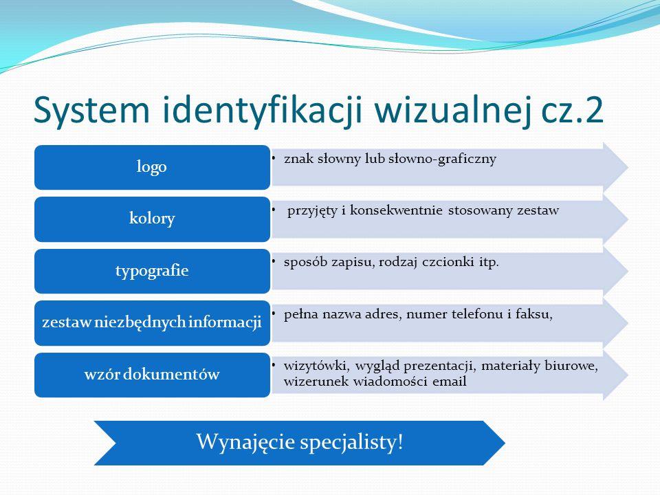System identyfikacji wizualnej cz.2