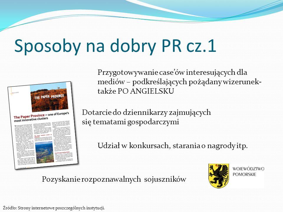 Sposoby na dobry PR cz.1Przygotowywanie case'ów interesujących dla mediów – podkreślających pożądany wizerunek- także PO ANGIELSKU.