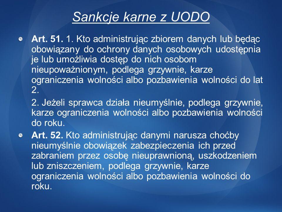 3/24/2017 12:43 AMSankcje karne z UODO.