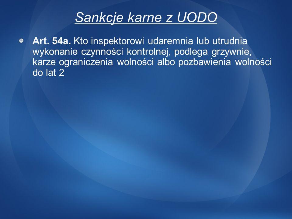 3/24/2017 12:43 AM Sankcje karne z UODO.