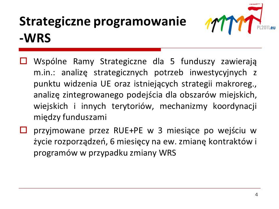 Strategiczne programowanie -WRS