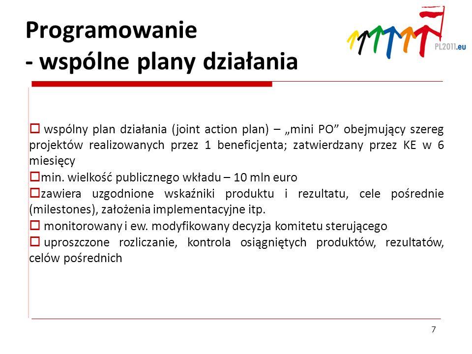 Programowanie - wspólne plany działania