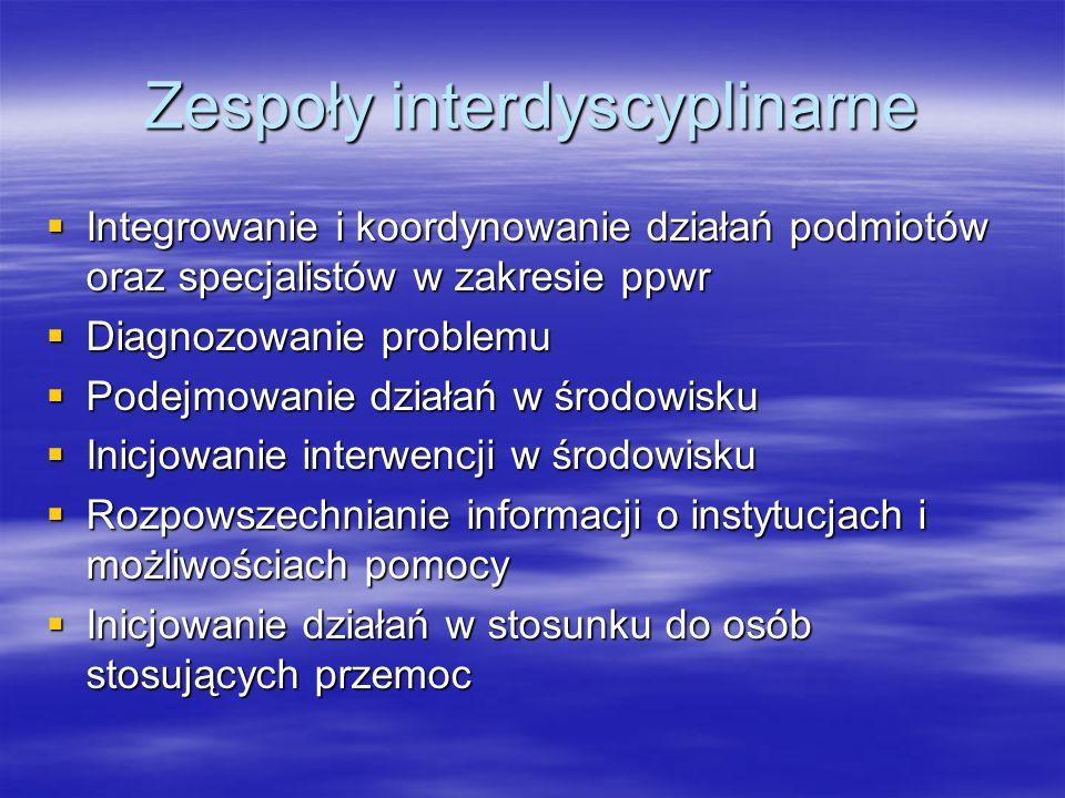 Zespoły interdyscyplinarne