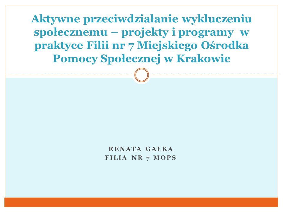Renata Gałka Filia nr 7 MOPS