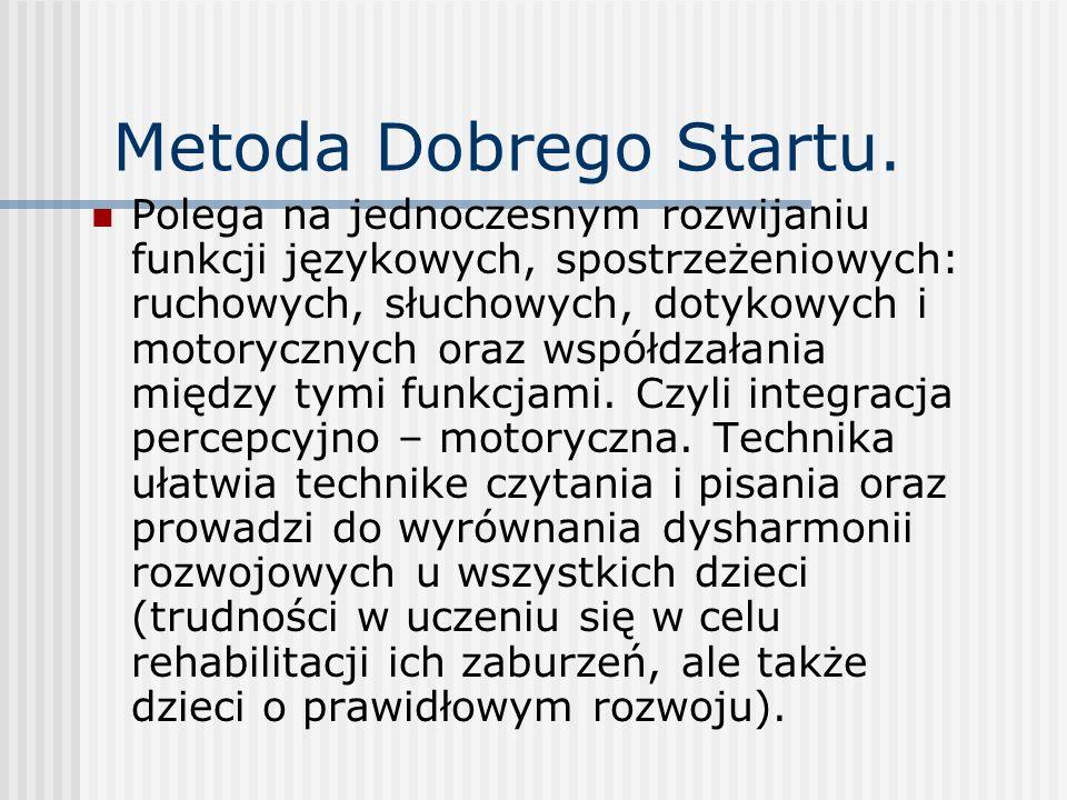 Metoda Dobrego Startu.