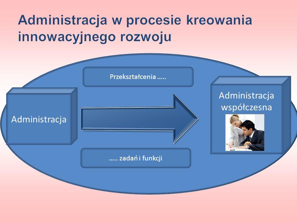 Administracja w procesie kreowania innowacyjnego rozwoju