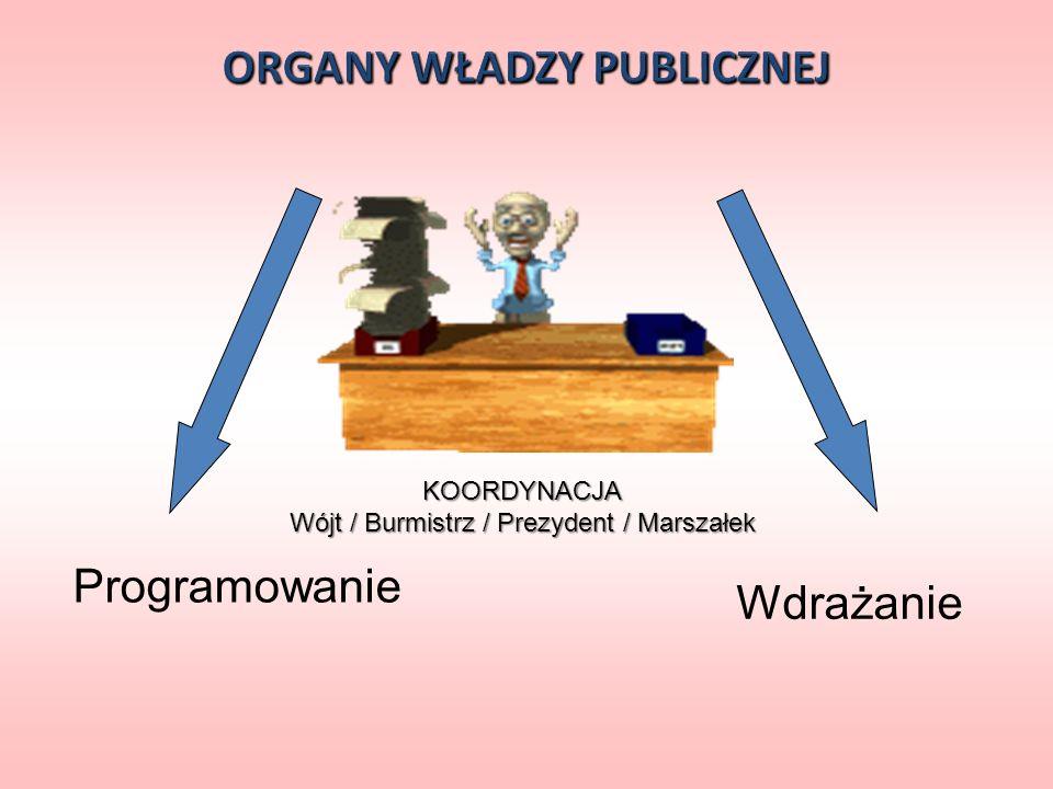 ORGANY WŁADZY PUBLICZNEJ