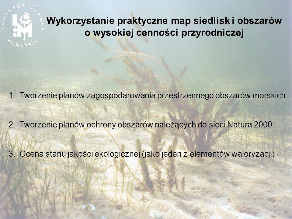 Wykorzystanie praktyczne map siedlisk i obszarów o wysokiej cenności przyrodniczej