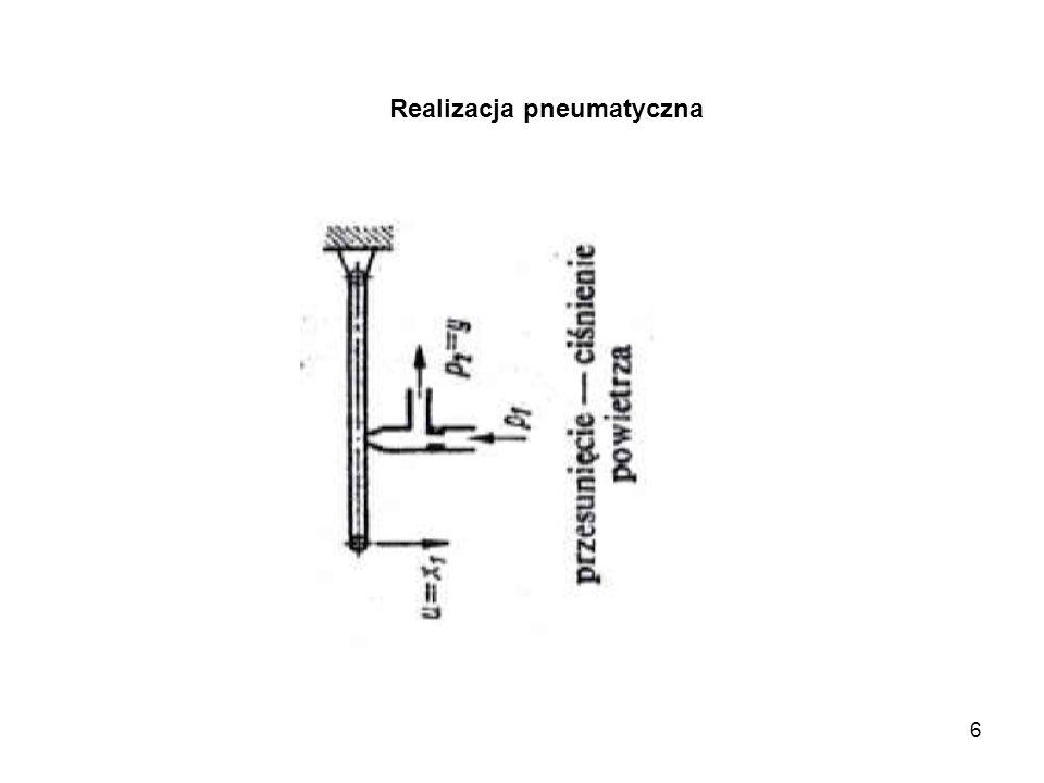 Realizacja pneumatyczna