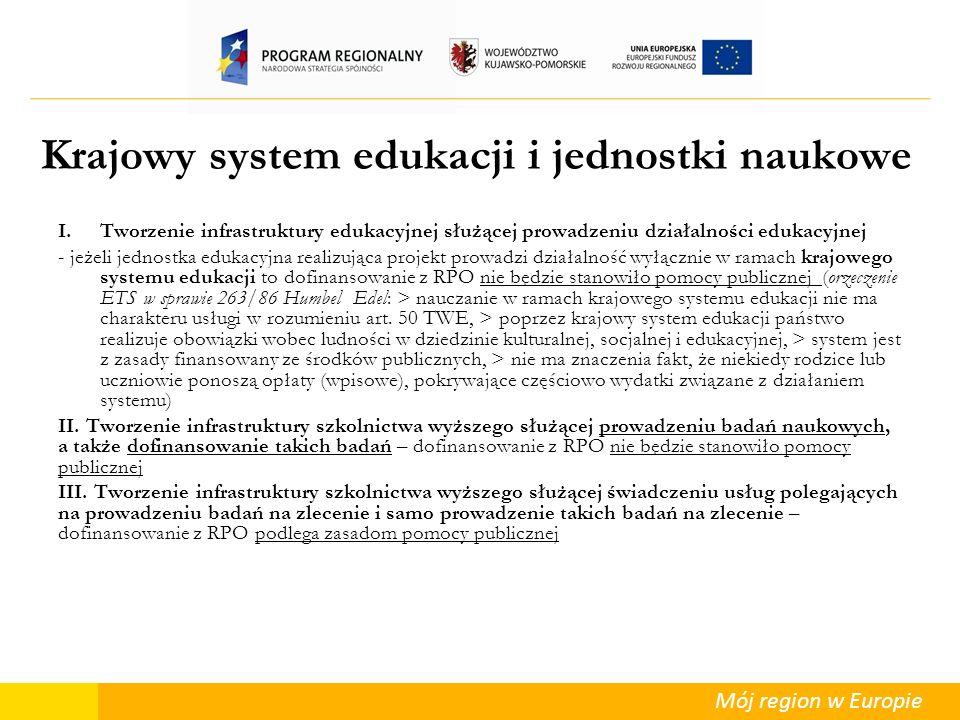 Krajowy system edukacji i jednostki naukowe