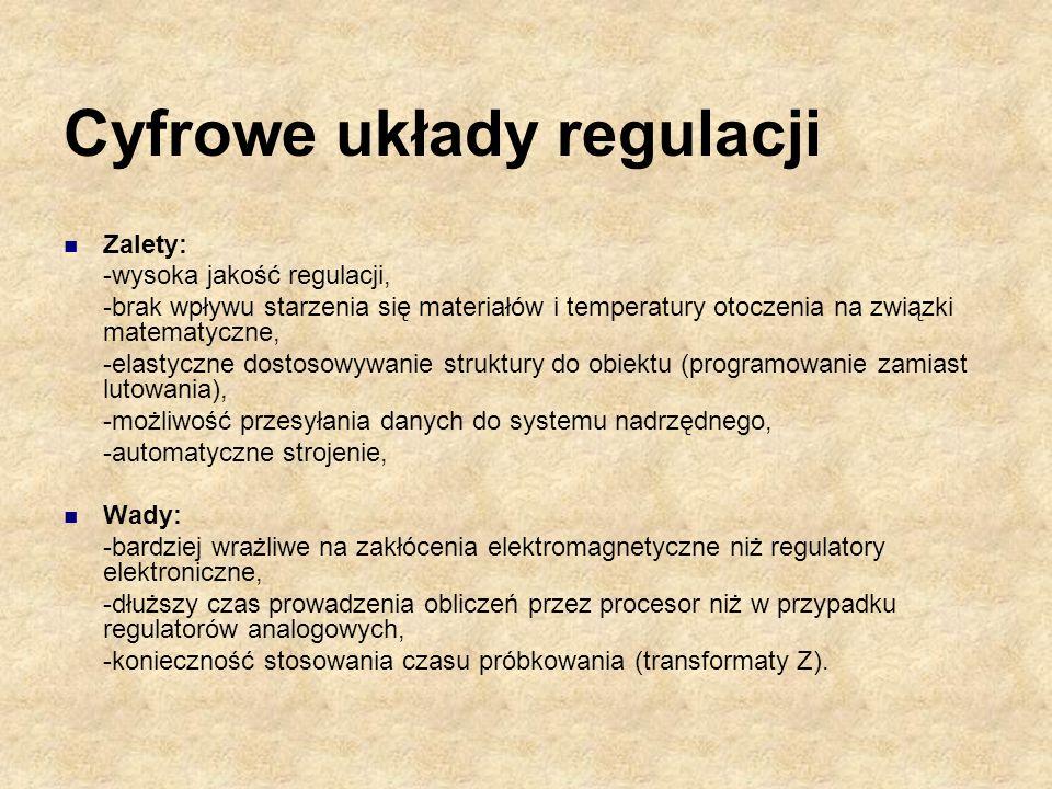 Cyfrowe układy regulacji
