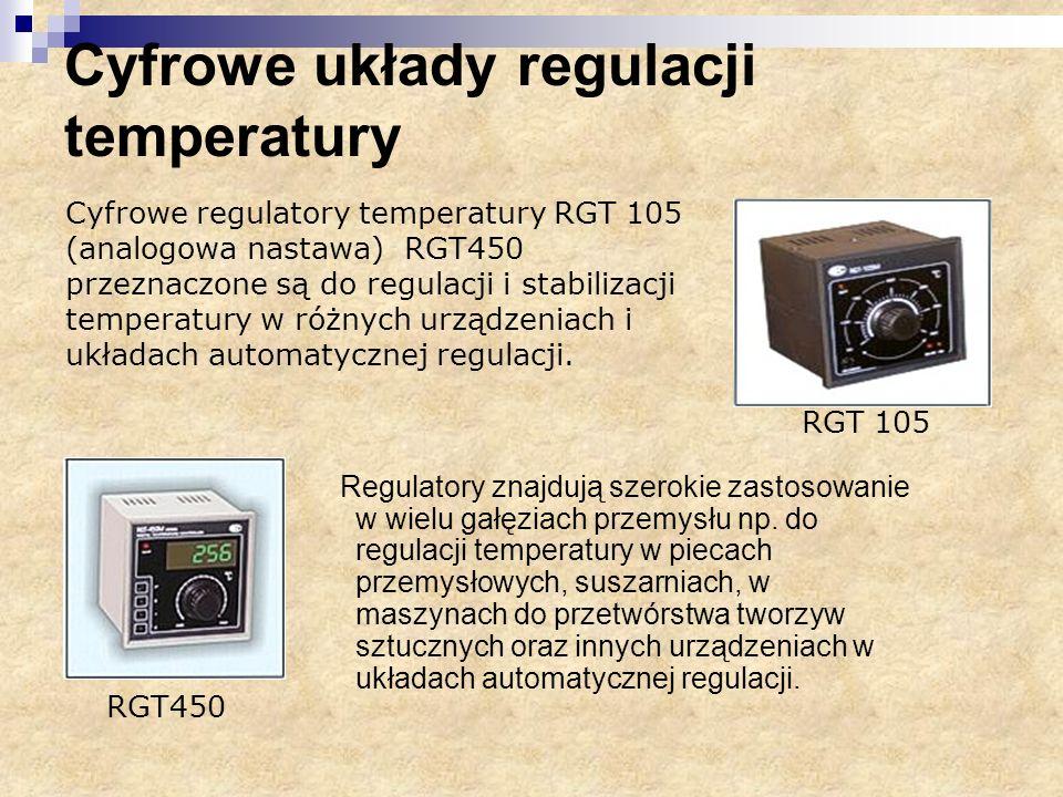 Cyfrowe układy regulacji temperatury