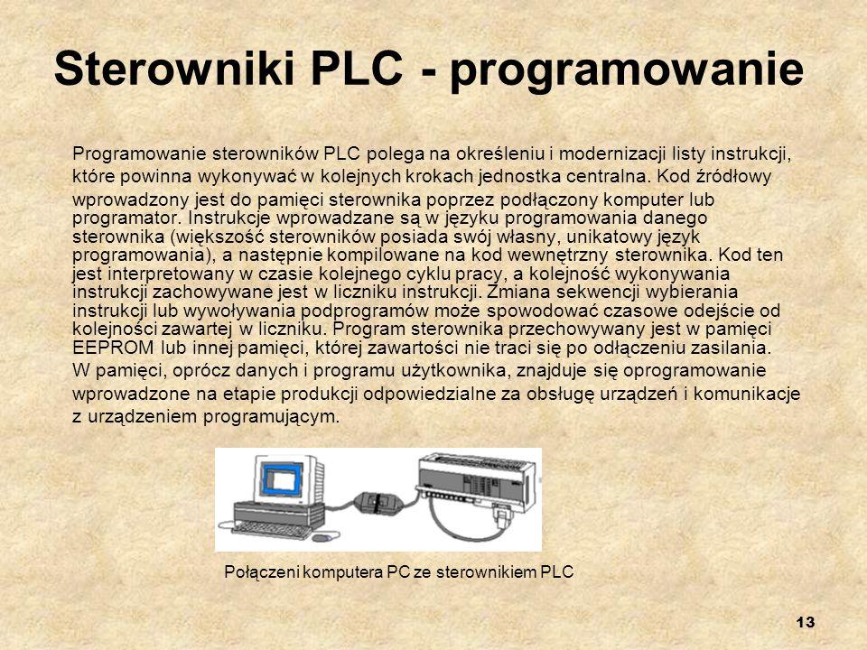 Sterowniki PLC - programowanie