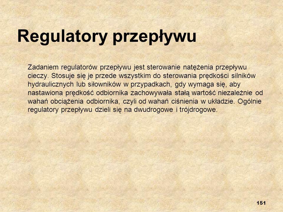 Regulatory przepływu