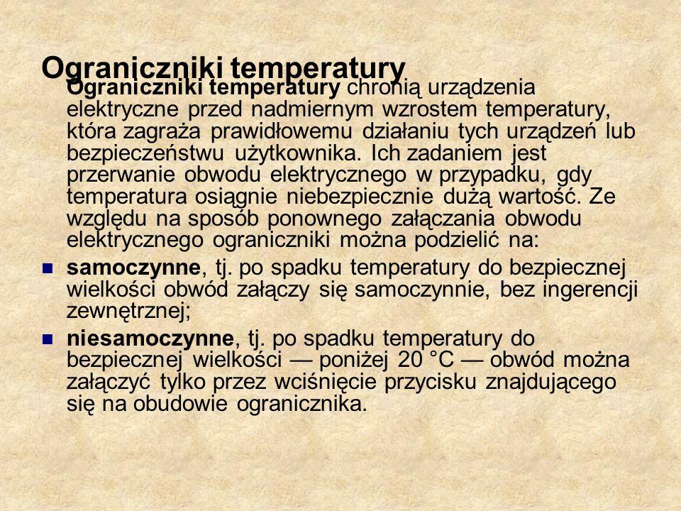 Ograniczniki temperatury
