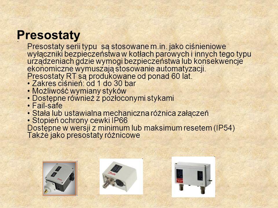 Presostaty