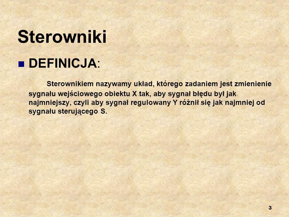 Sterowniki DEFINICJA:
