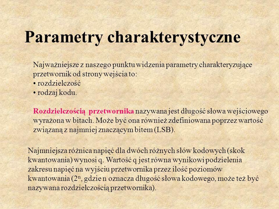 Parametry charakterystyczne