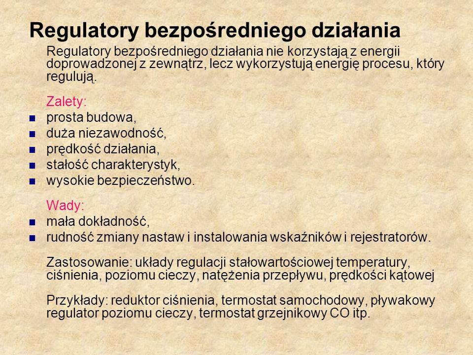 Regulatory bezpośredniego działania