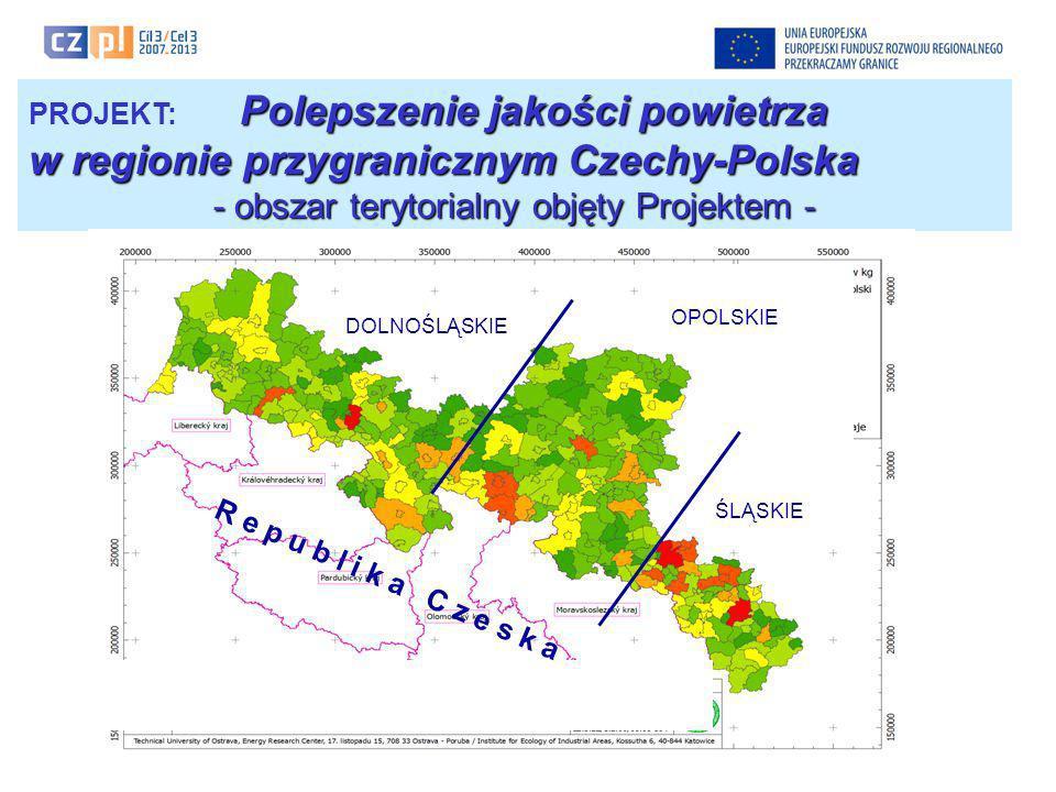 - obszar terytorialny objęty Projektem -