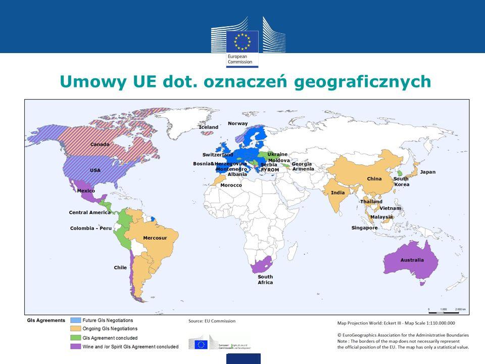 Umowy UE dot. oznaczeń geograficznych