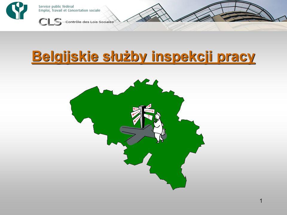 Belgijskie służby inspekcji pracy