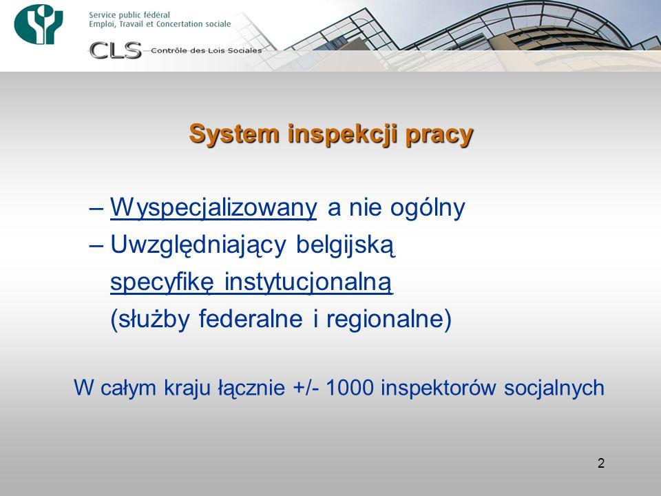 System inspekcji pracy