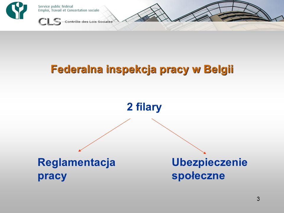 Federalna inspekcja pracy w Belgii