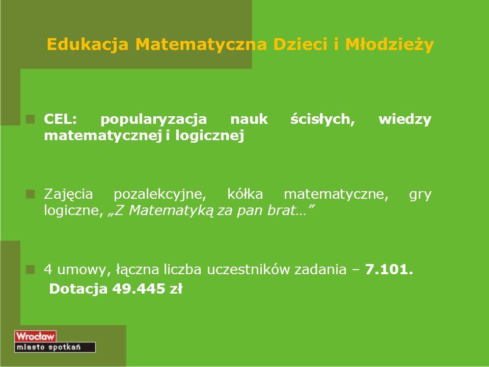 Edukacja Matematyczna Dzieci i Młodzieży