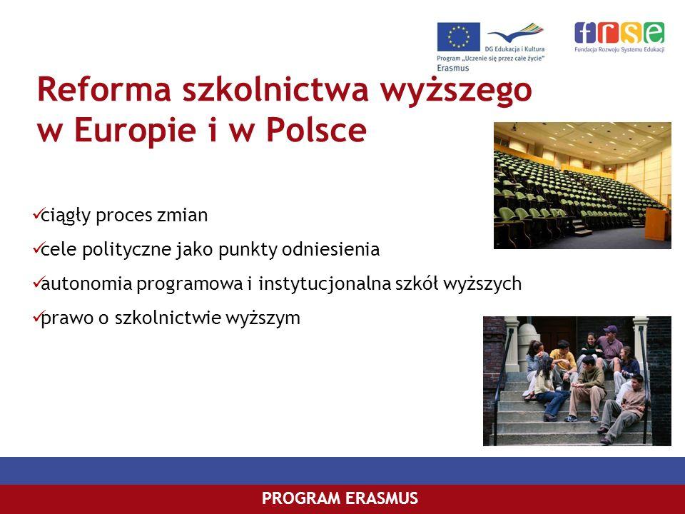 Reforma szkolnictwa wyższego w Europie i w Polsce