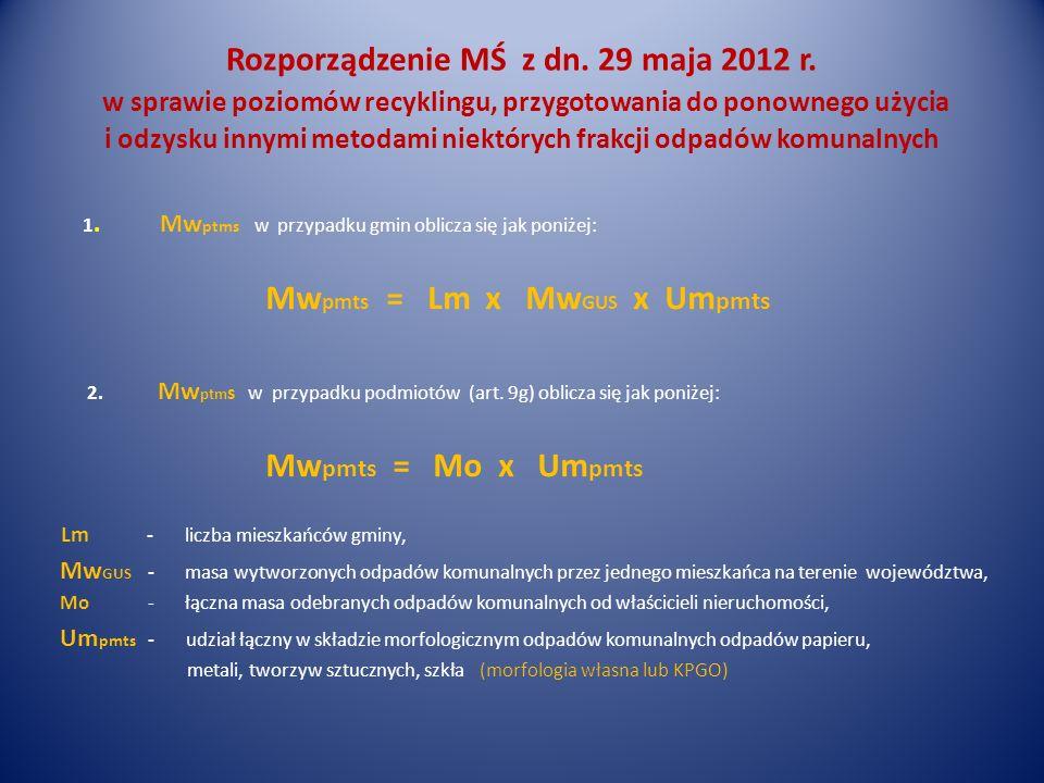 Mwpmts = Lm x MwGUS x Umpmts