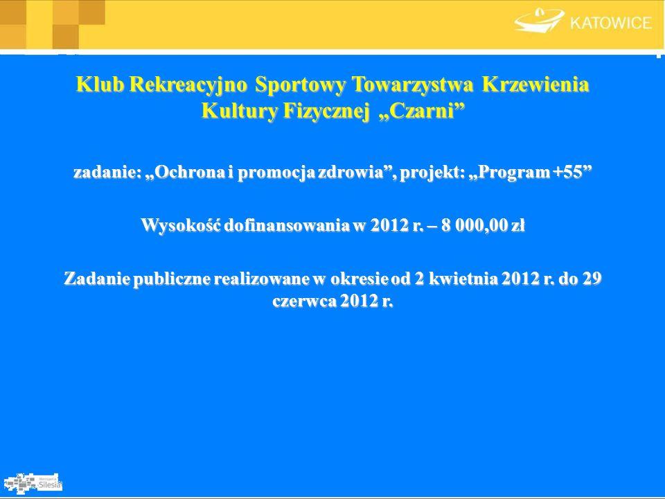 """Klub Rekreacyjno Sportowy Towarzystwa Krzewienia Kultury Fizycznej """"Czarni"""