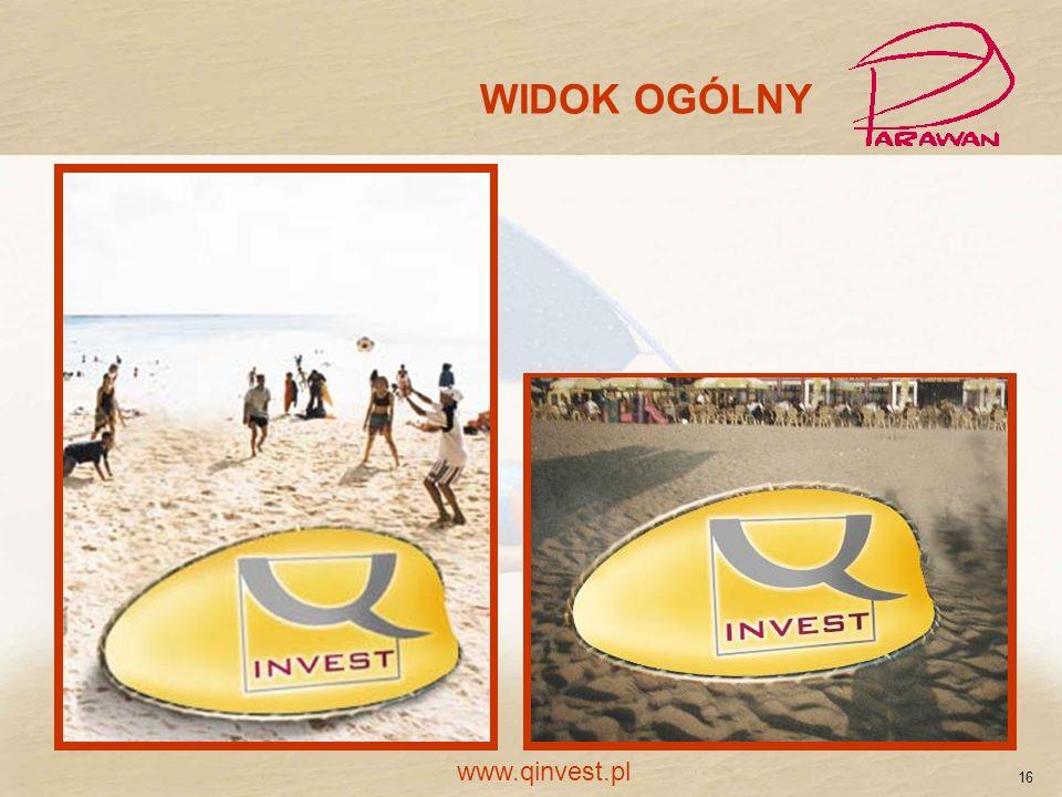 WIDOK OGÓLNY www.qinvest.pl 16