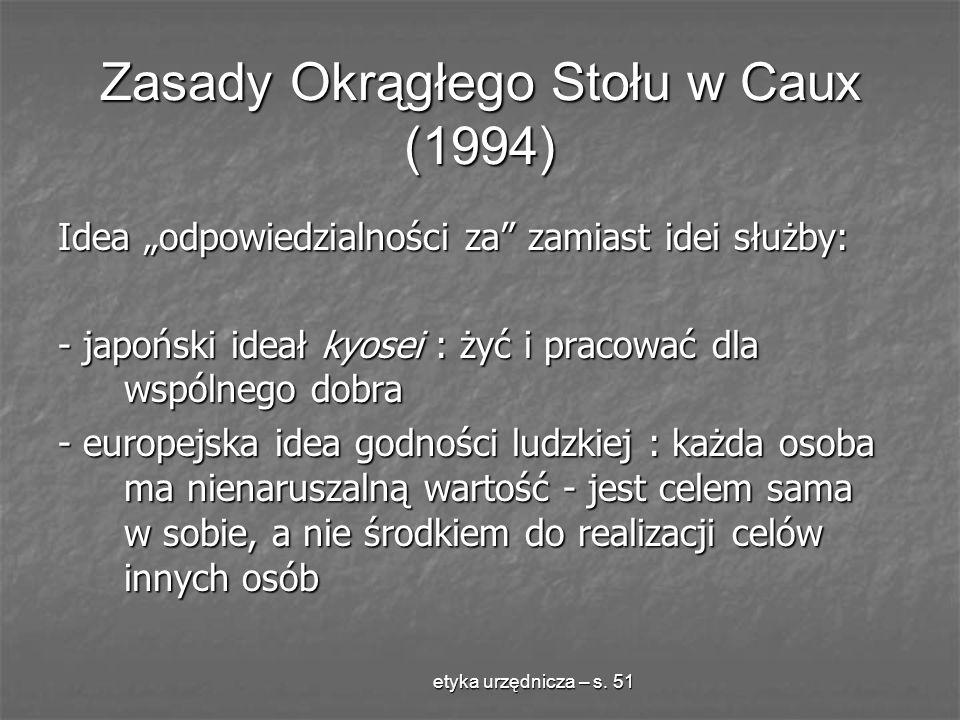 Zasady Okrągłego Stołu w Caux (1994)