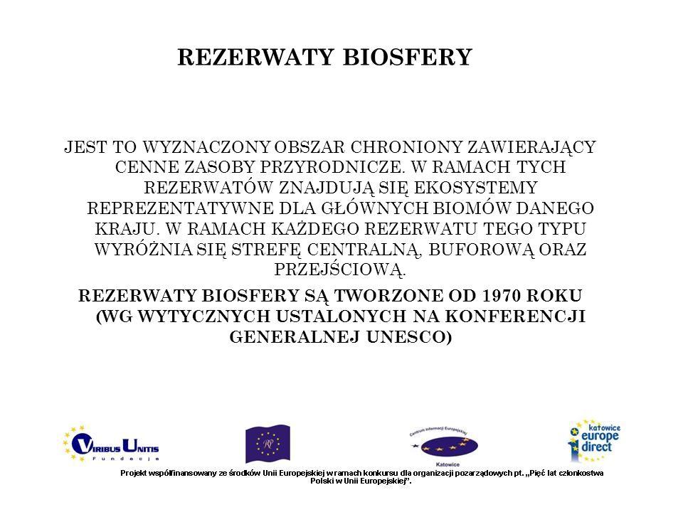 REZERWATY BIOSFERY